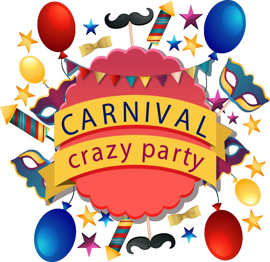 Clipart balloon carnival. Party clip art crazy
