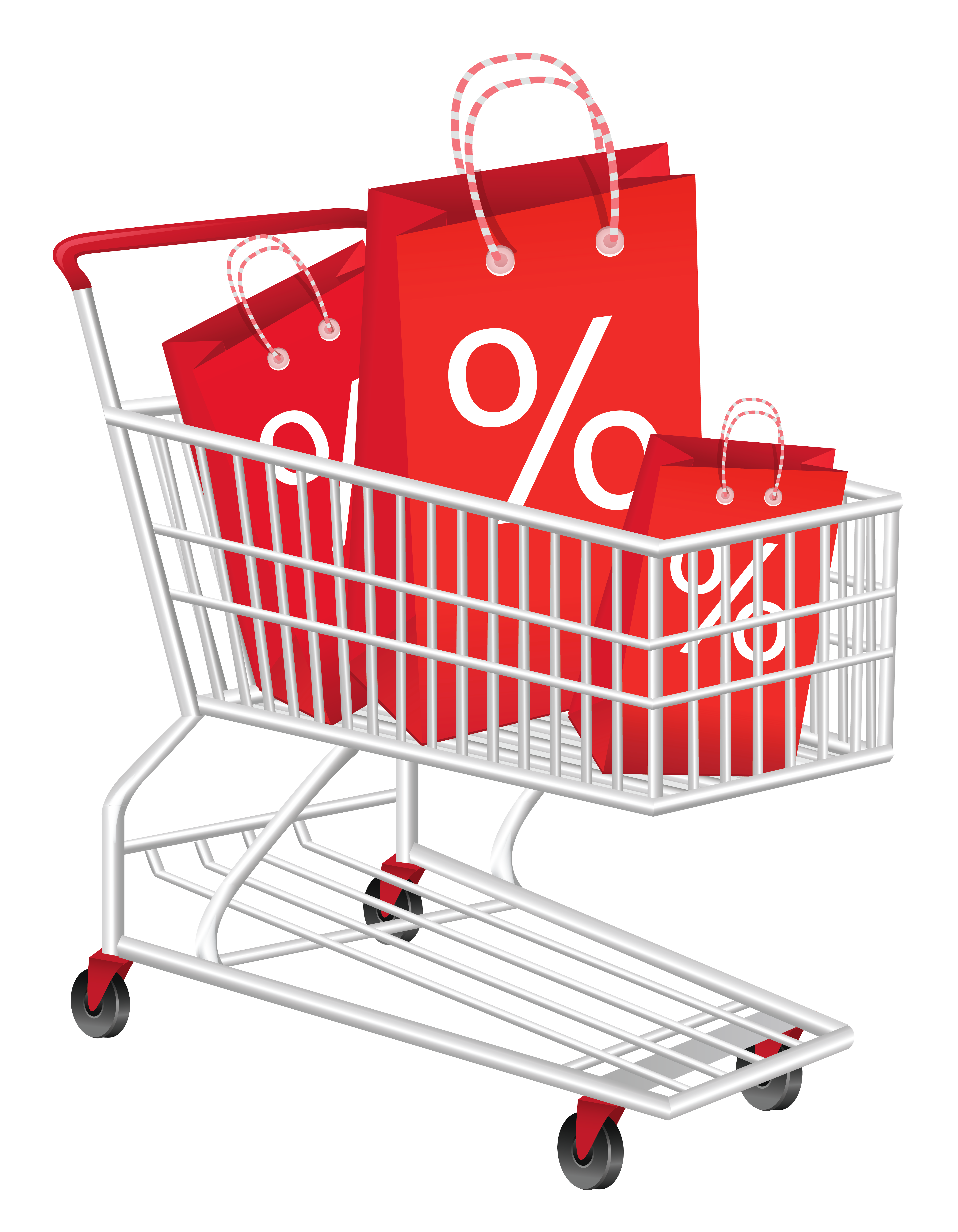 Discount cart png picture. Couple clipart shopping