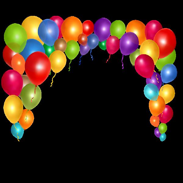 Clipart balloon cartoon. Party balloons clip art