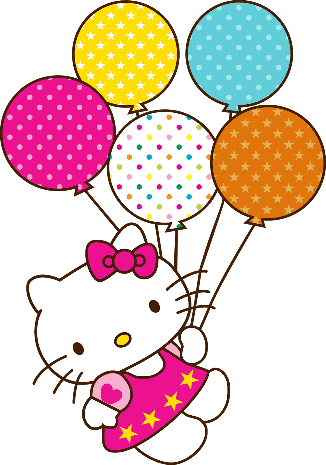Pin by tisha coetzee. Clipart balloon cat