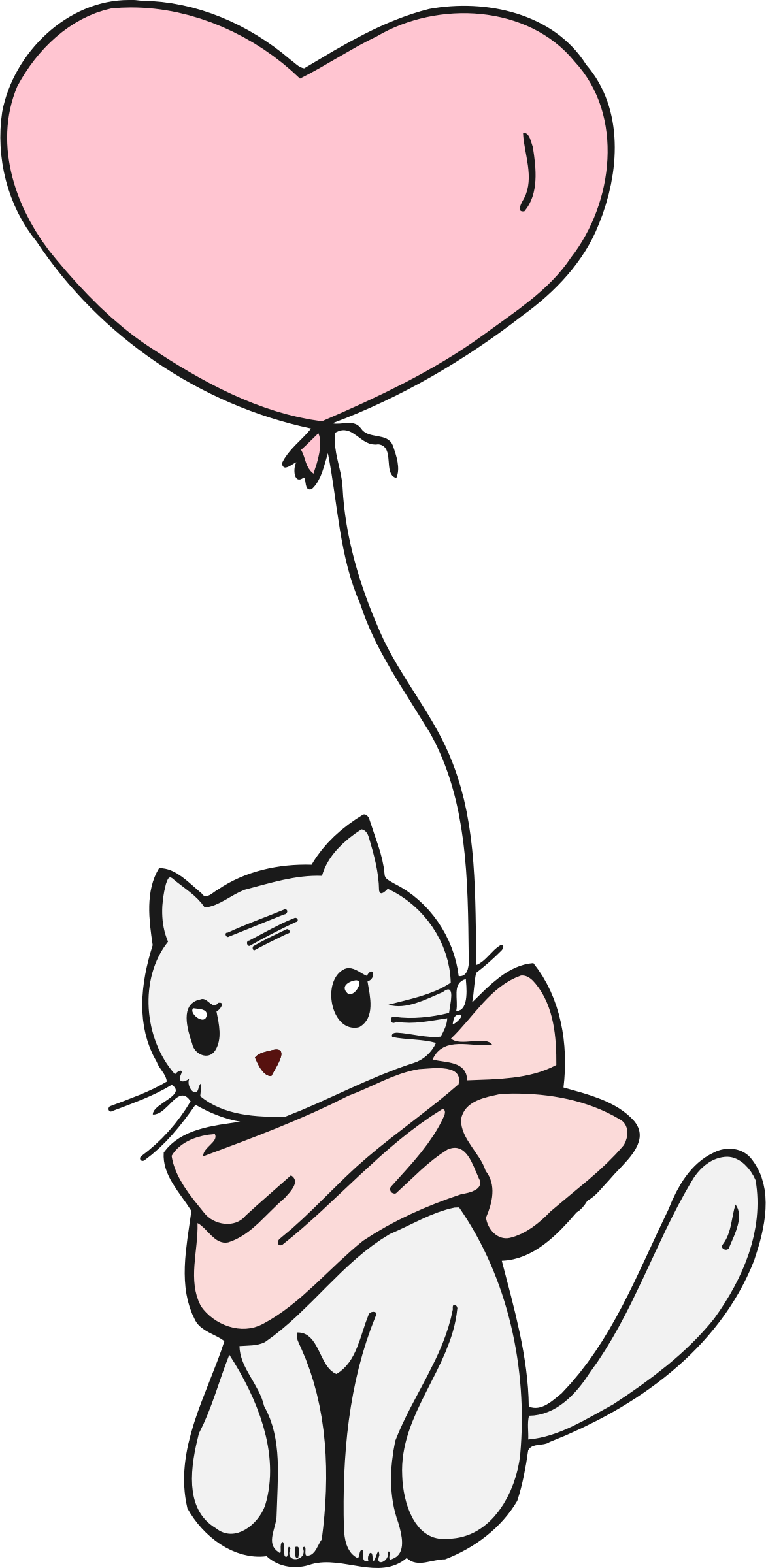 And big image png. Clipart balloon cat