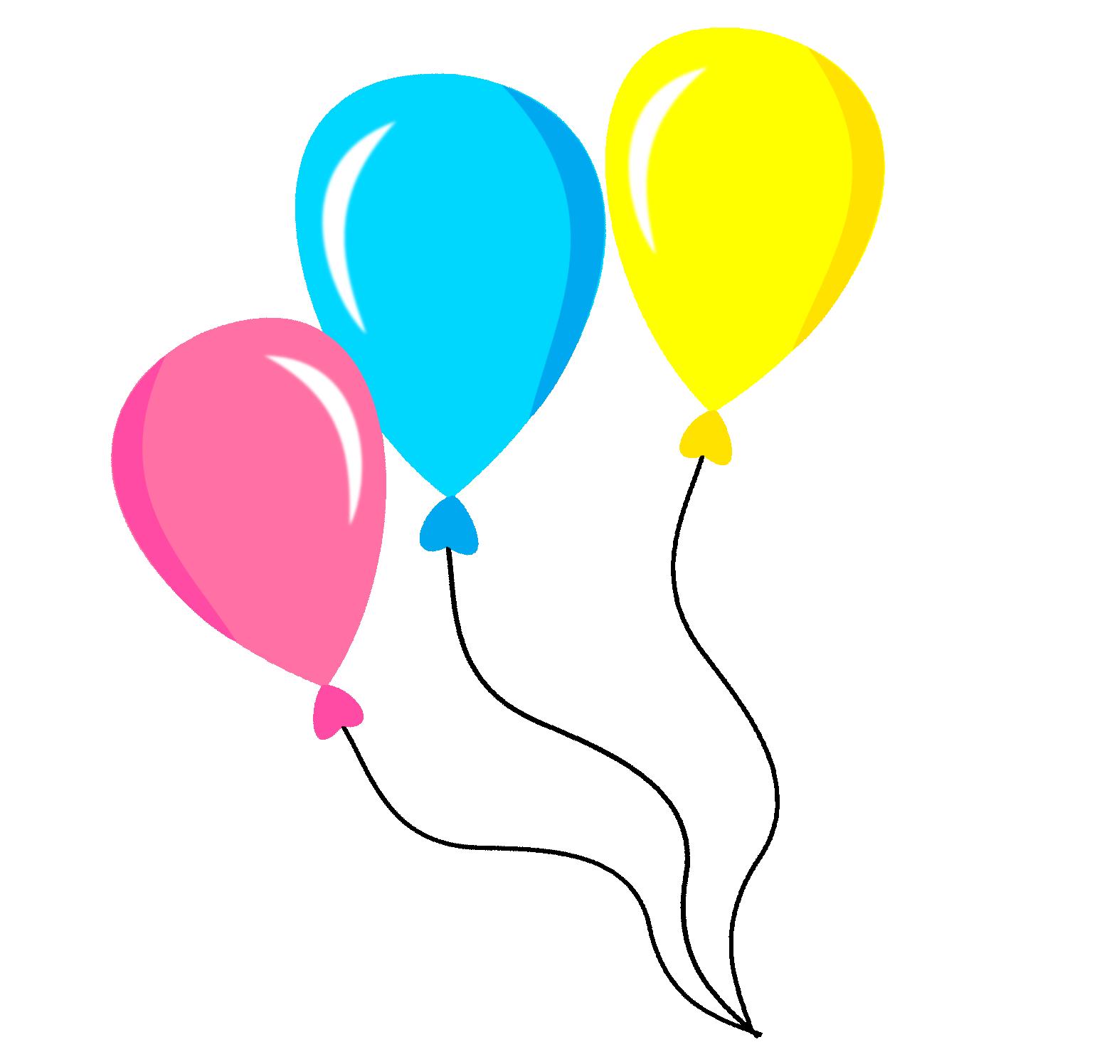 Bal es circo montando. Clipart balloon chalkboard
