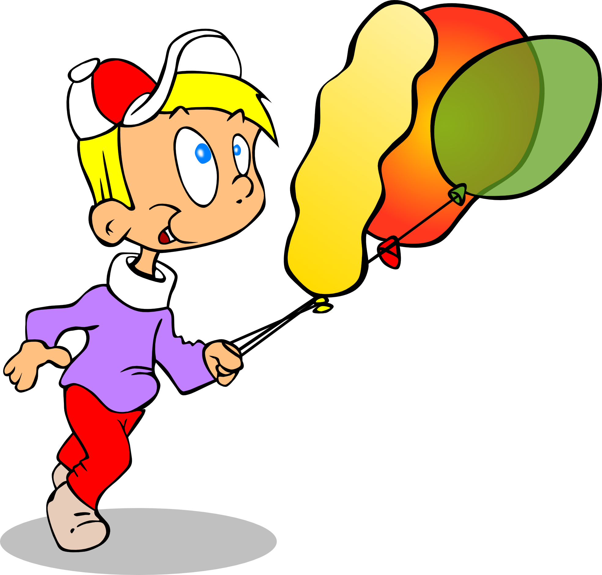 Clipart balloon child. Png panda free images