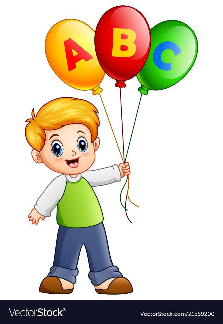 Clipart balloon child. Pin by on cartoon