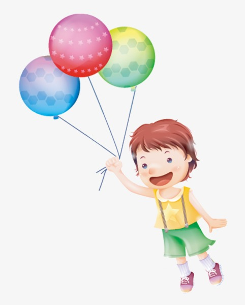 Download free png children. Clipart balloon child