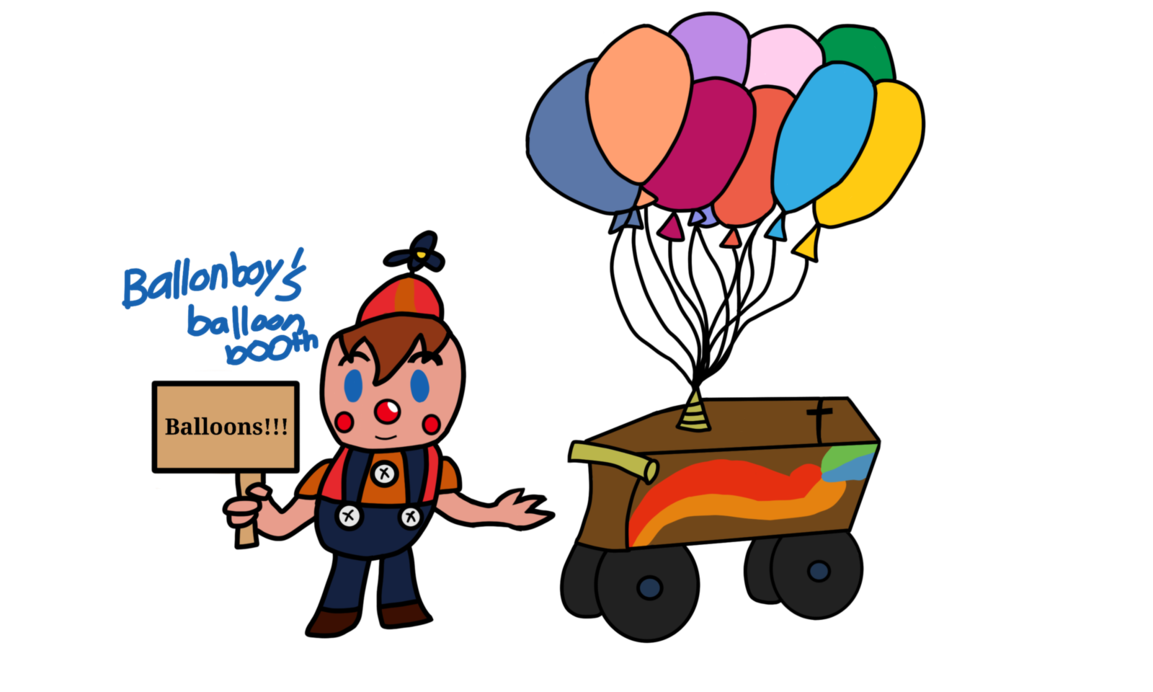 Fnaf boy s booth. Clipart balloon circus
