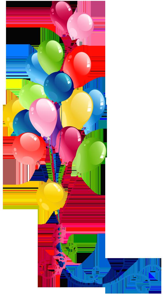 Birthday balloons clip art. Clipart balloon clear background