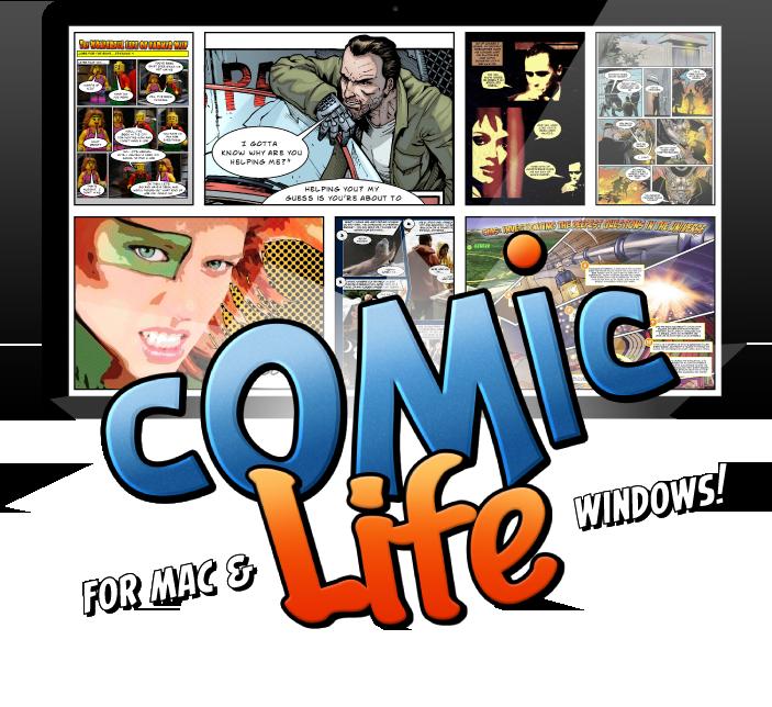 Life for mac windows. Dot clipart comic book