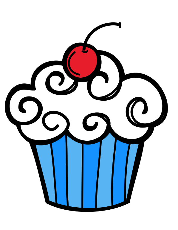 Clipart balloon cupcake. Adventures with firsties today
