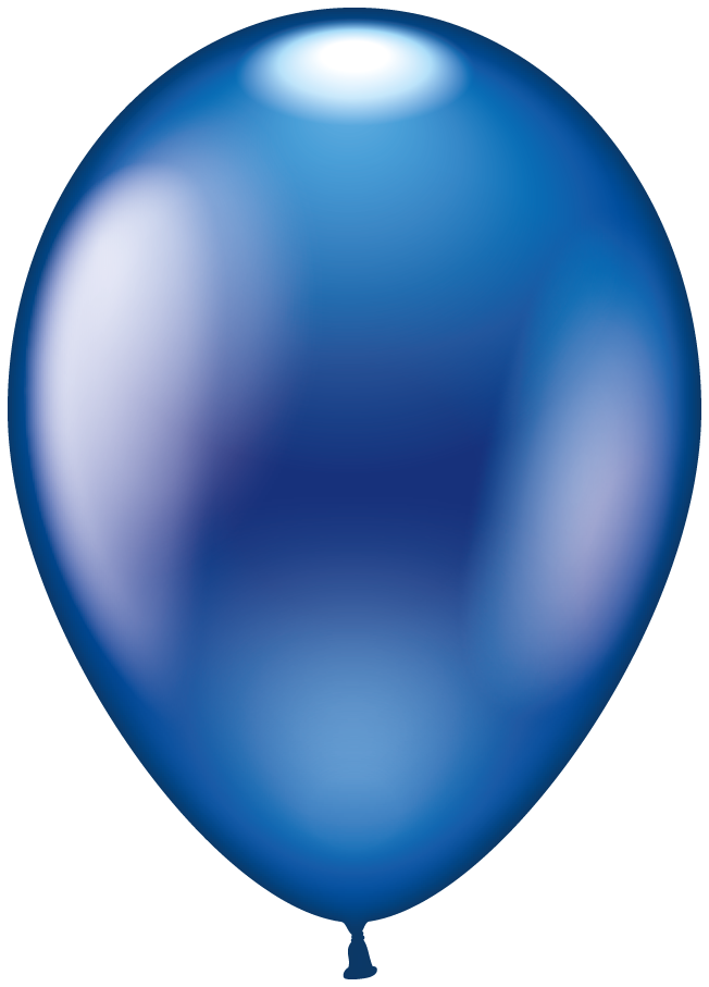 Clipart balloon dark blue. Karaloon shop balloons metallic