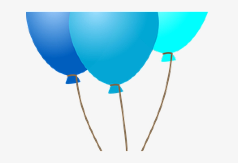 Single balloons clip art. Clipart balloon dark blue