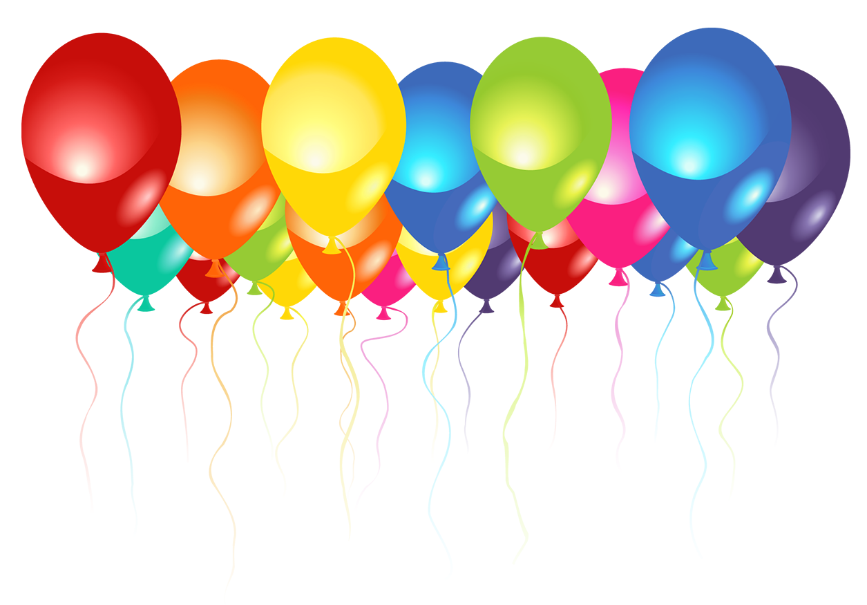 Congratulations clipart bold. Transparent balloons png picture
