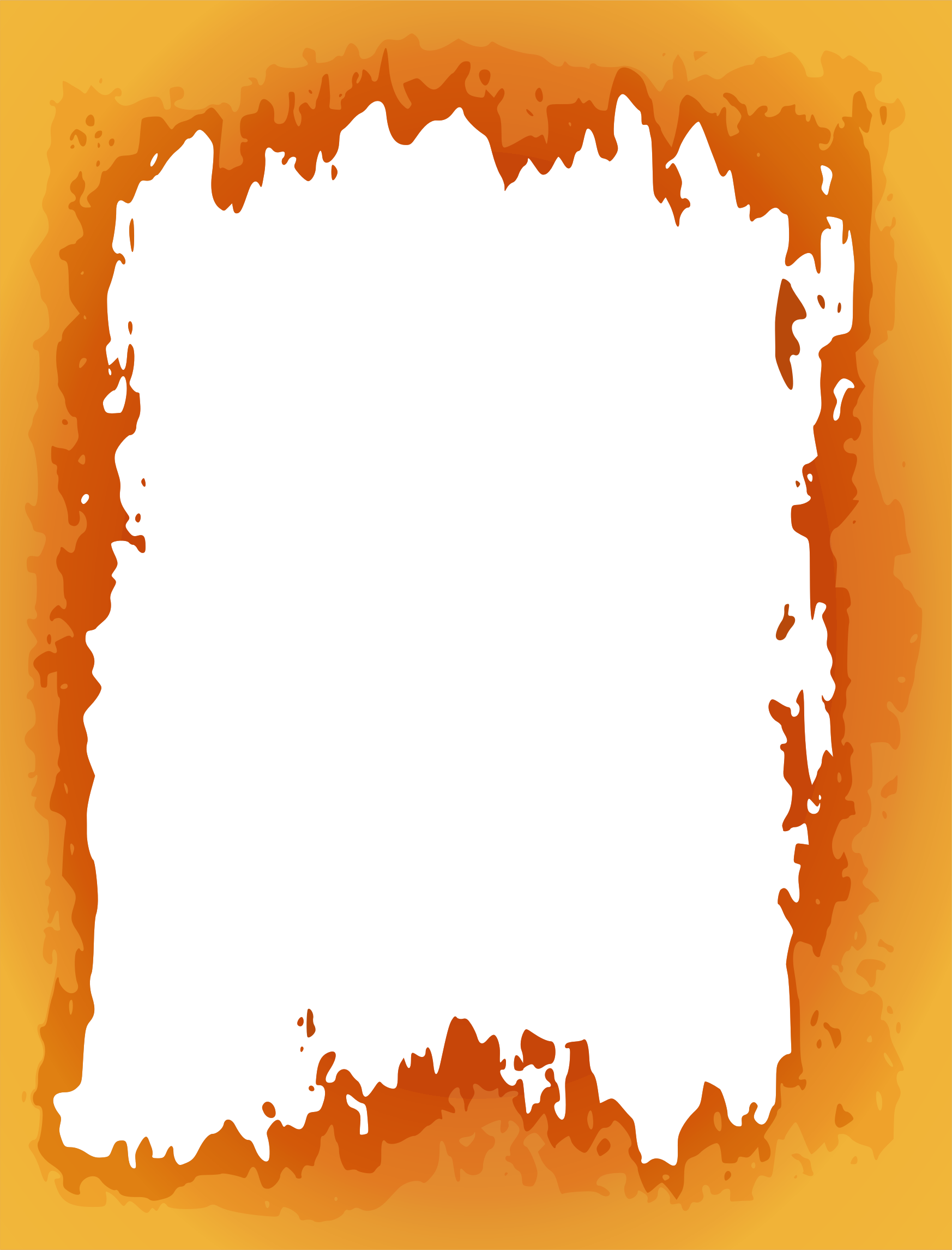 Fireplace clipart background. Fire border big image
