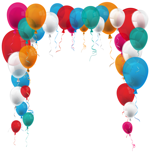 Clipart balloon frame.  png photoshop pinterest
