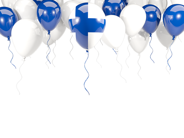With flag illustration of. Clipart balloon frame