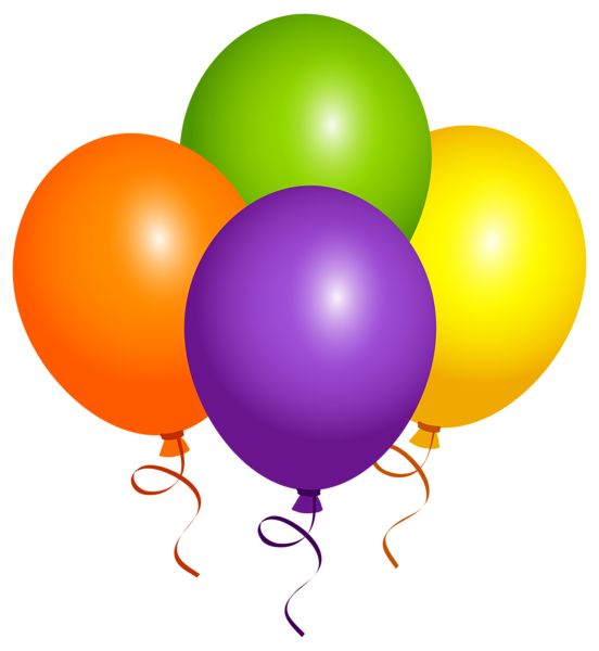Large balloons png image. Clipart balloon graduation