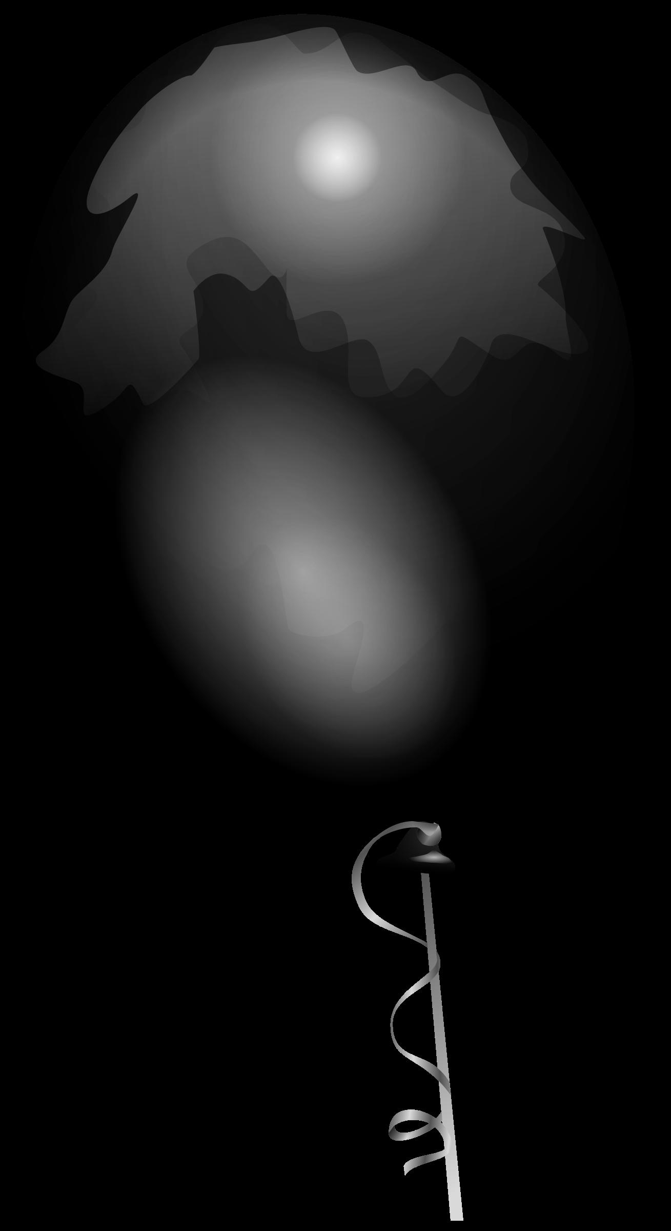 Big image png. Clipart balloon grey