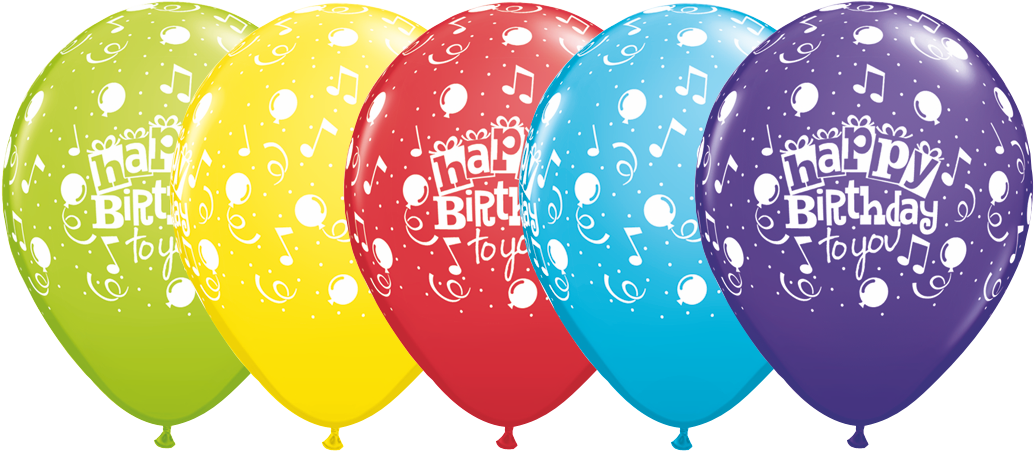 Clipart balloon happy birthday.  round special assorted