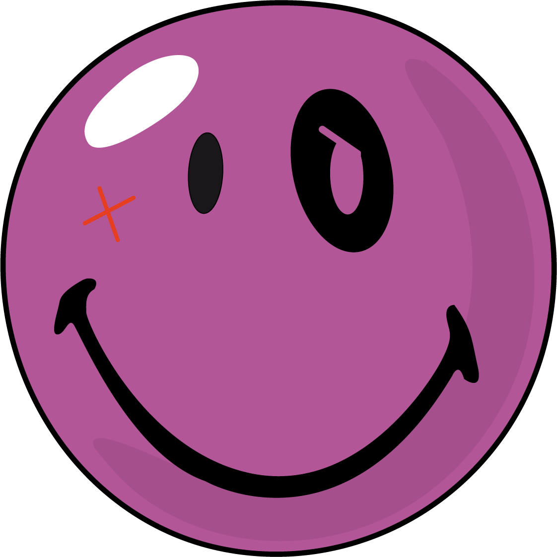 Clipart balloon head. Face smiley clipartly comclipartly