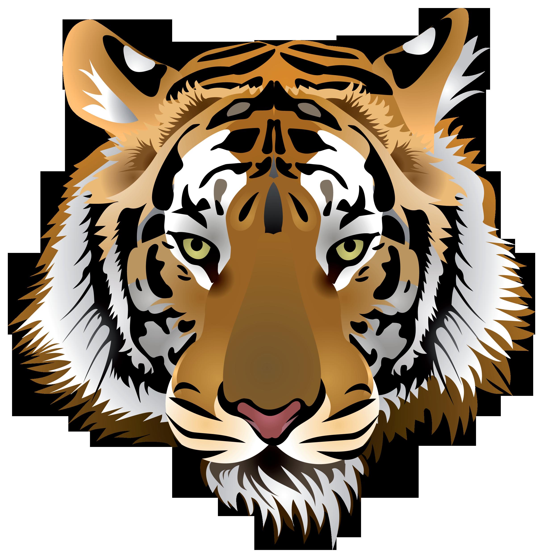 Nuts clipart head. Tiger png clip art