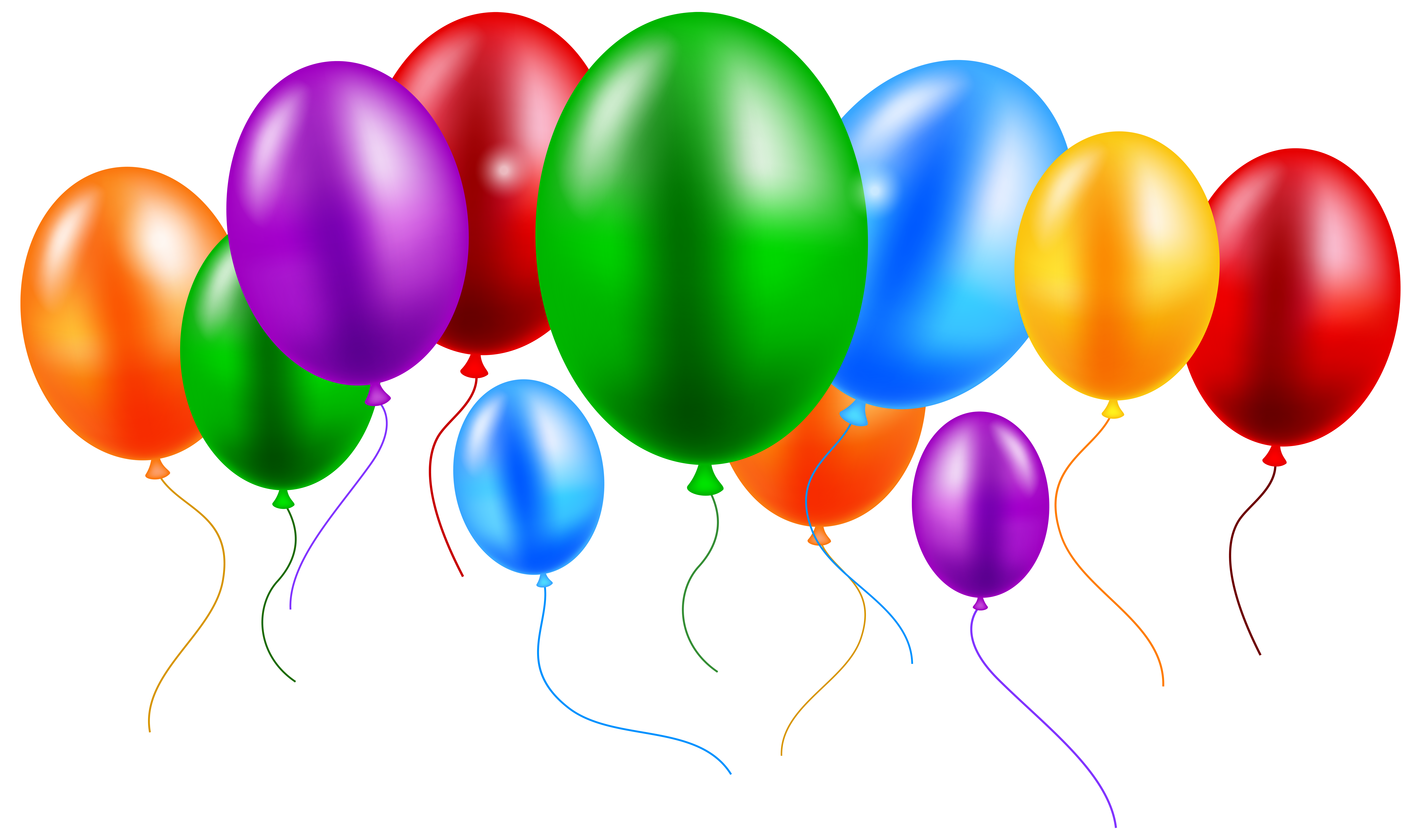 Balloons colorful png clip. Clipart balloon house