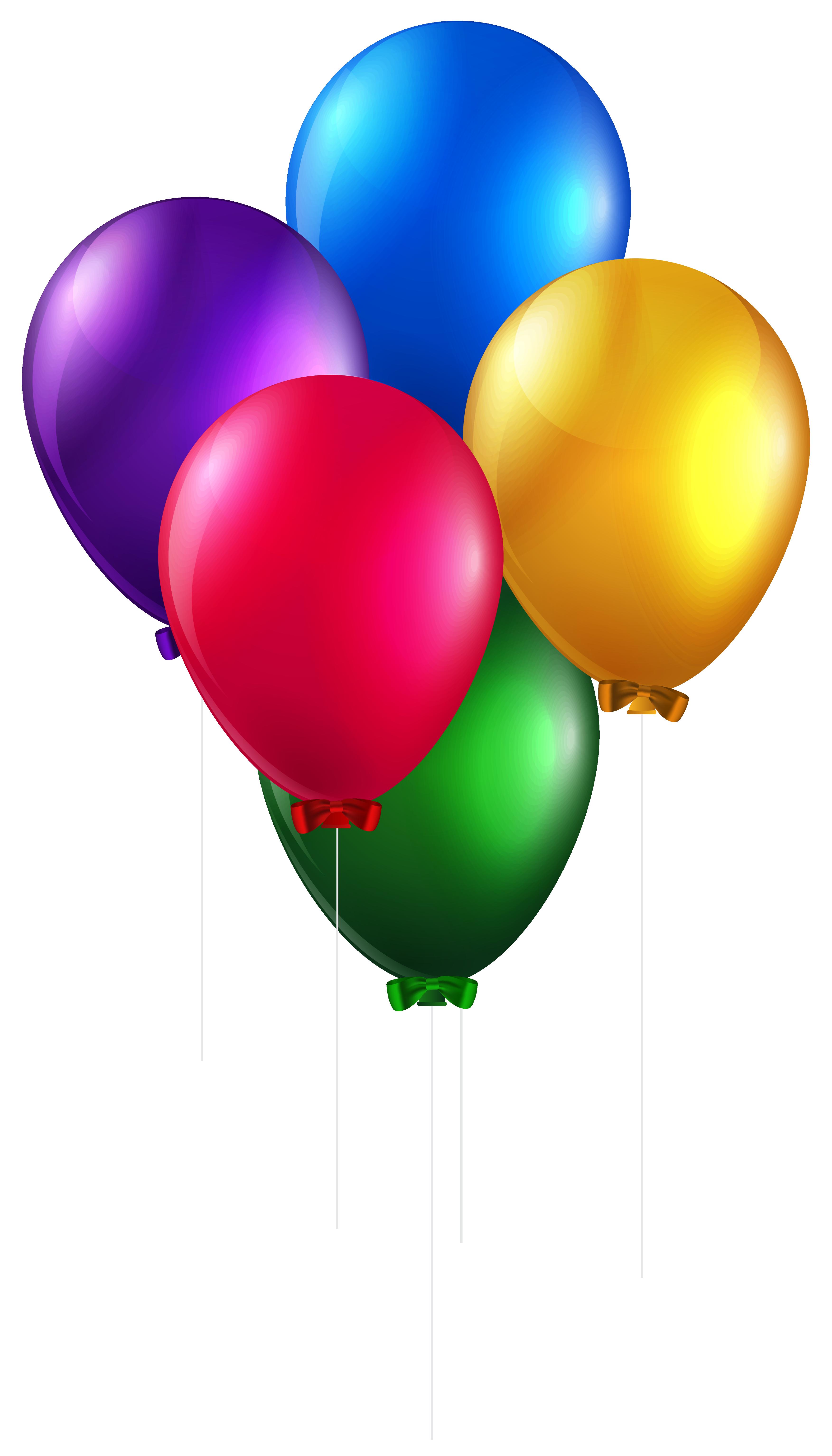 Balloons png clip art. Ballon clipart colorful balloon