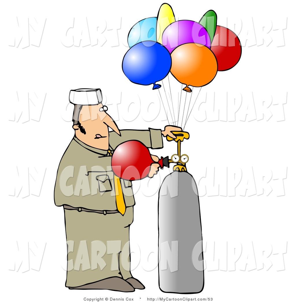 Clipart balloon man. Clip art of a