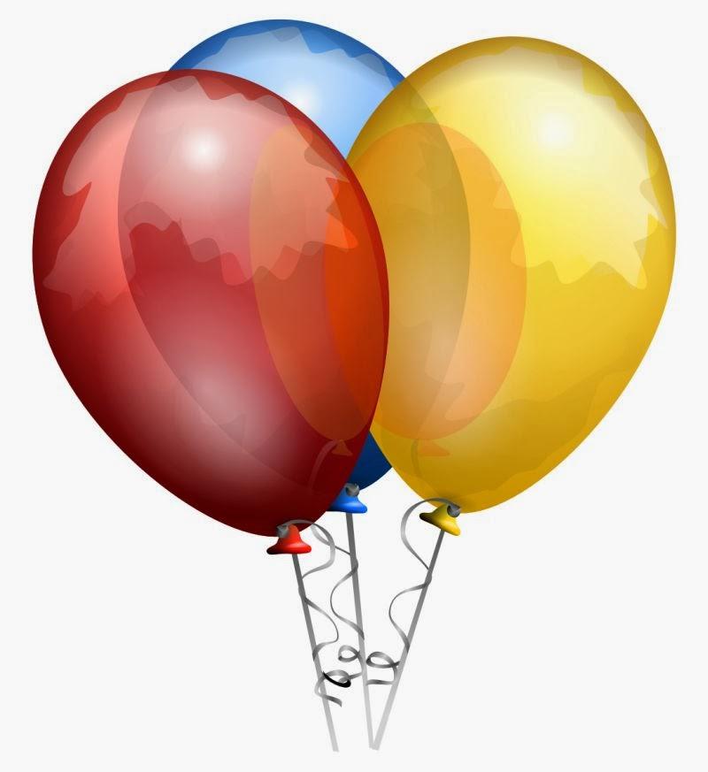 Clipart balloon new year, Clipart balloon new year