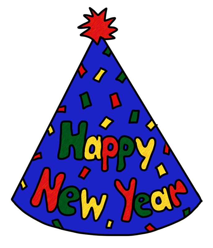 Party hat year s. Clipart balloon new years eve