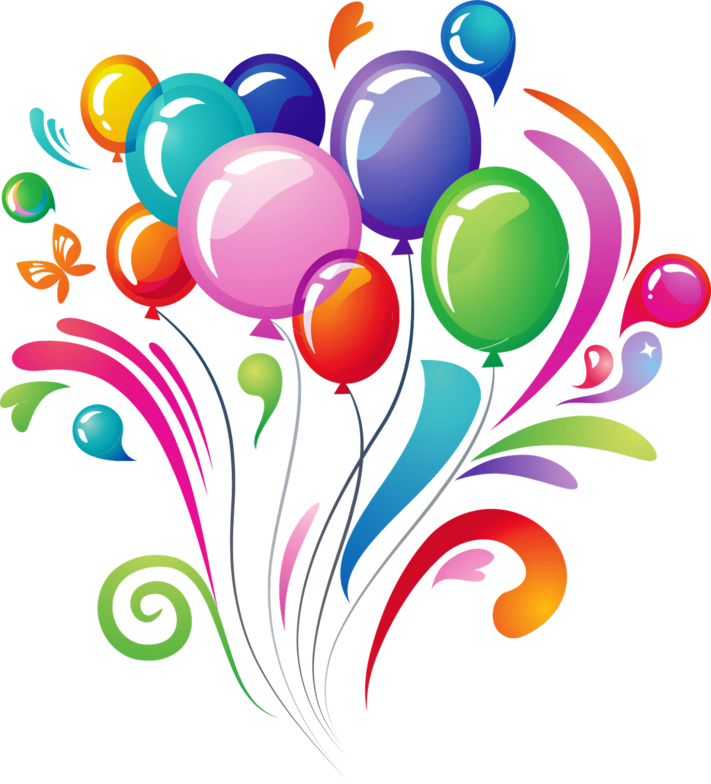 Clipart balloon new years eve. Latex helium foil mylar