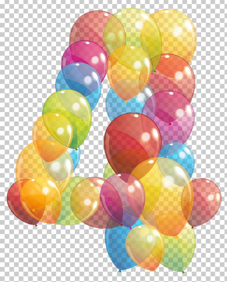 Png balloons birthday . Clipart balloon number