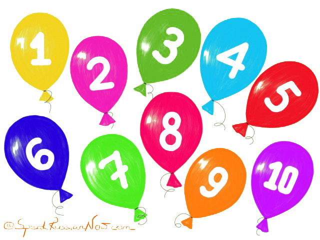 Clipart balloon number.  to numbers png