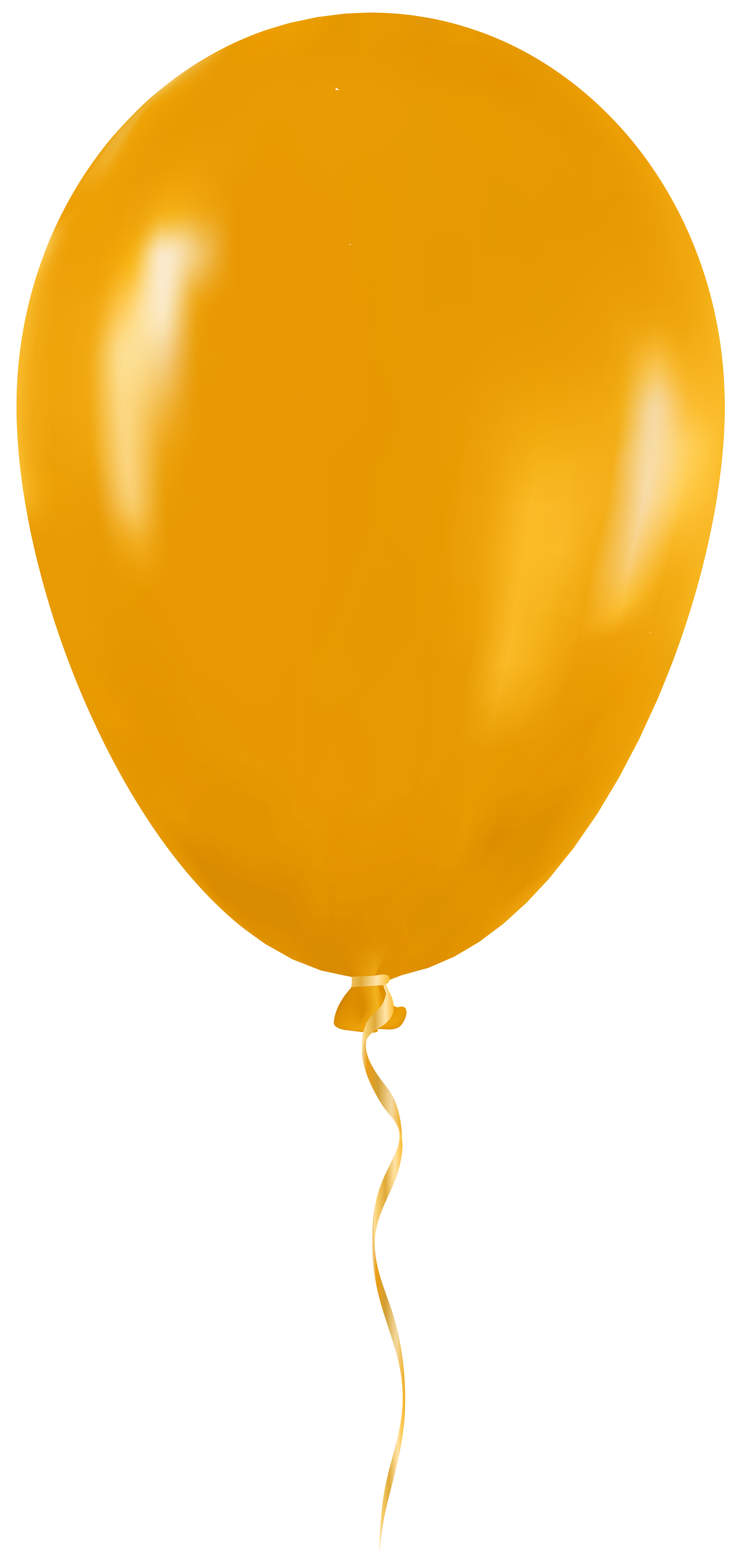 Yellow png clip art. Clipart balloon orange