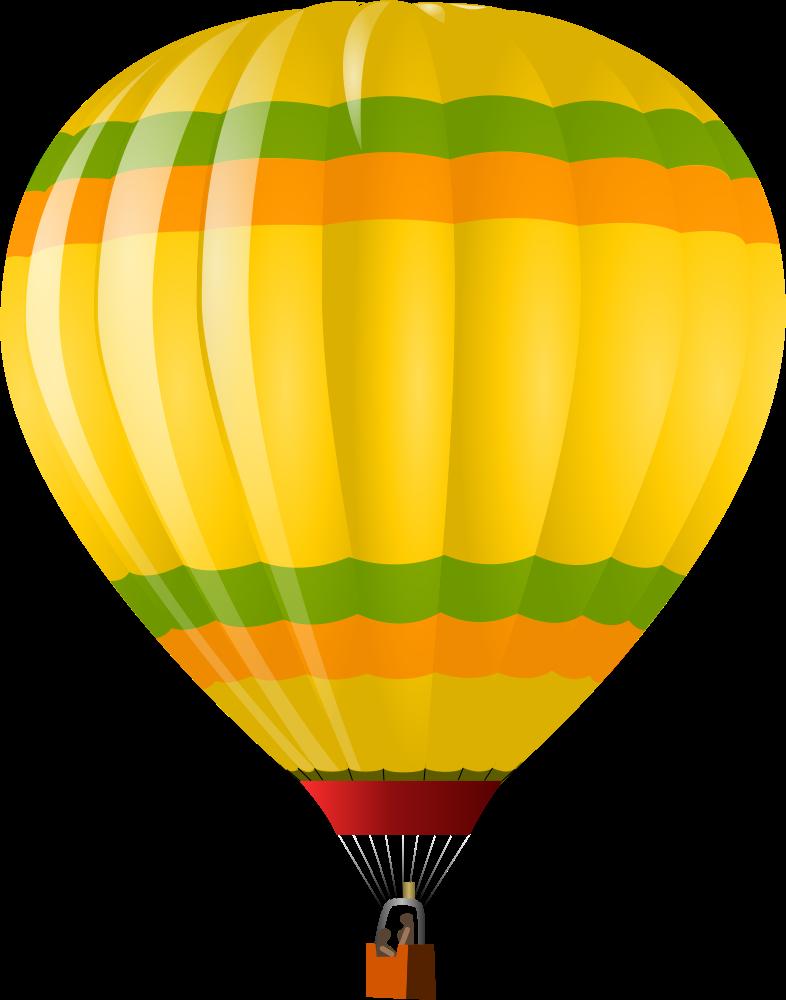 Clipart balloon orange. Onlinelabels clip art hot