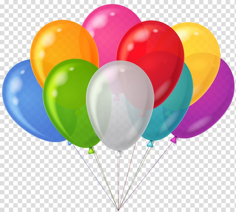 Clipart balloon party balloon. Bunch colorful balloons assorted