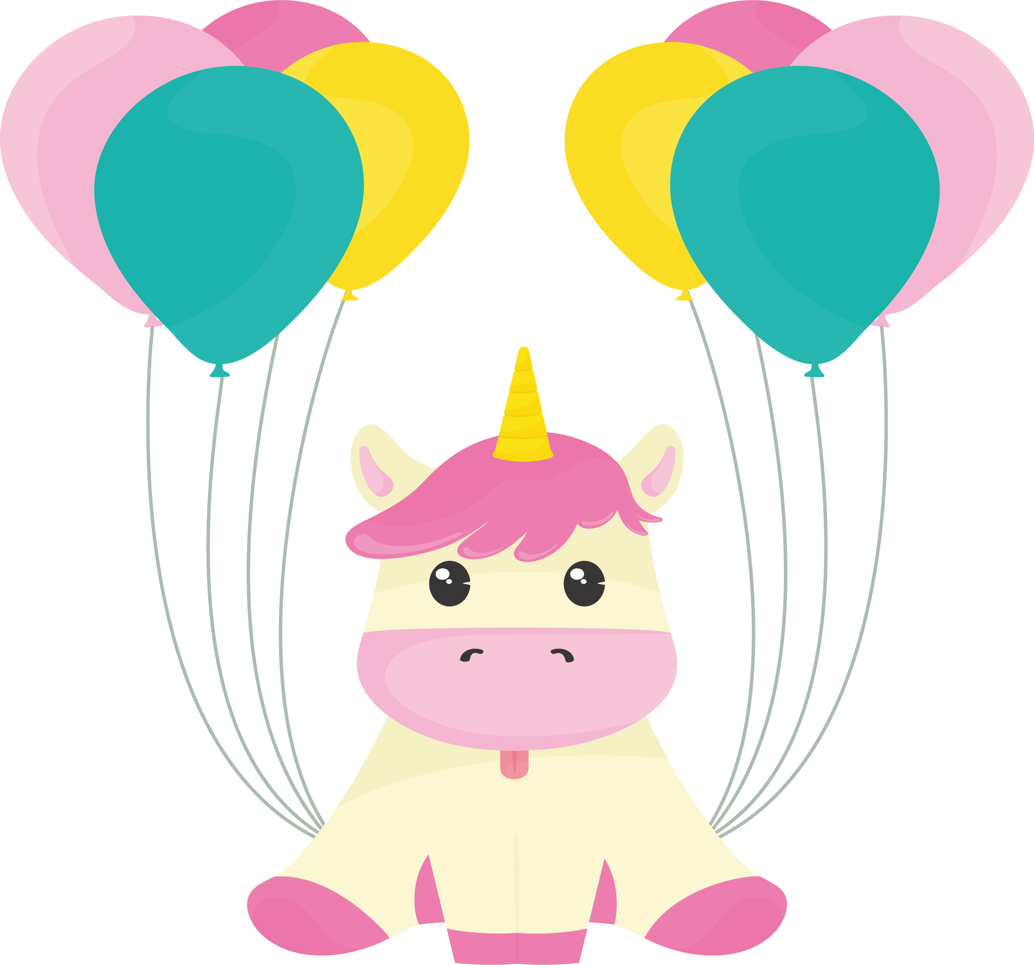 Clipart unicorn food. Balloon clip art a