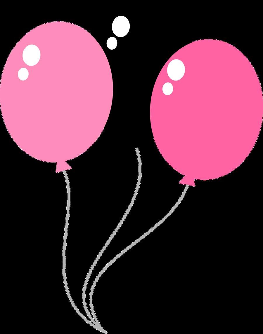 Clipart balloon pink.  ba oons h
