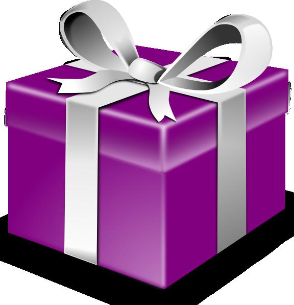 Clipart balloon presents. Secretlondon purple present clip