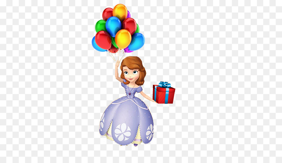 Clipart balloon princess. Birthday party background