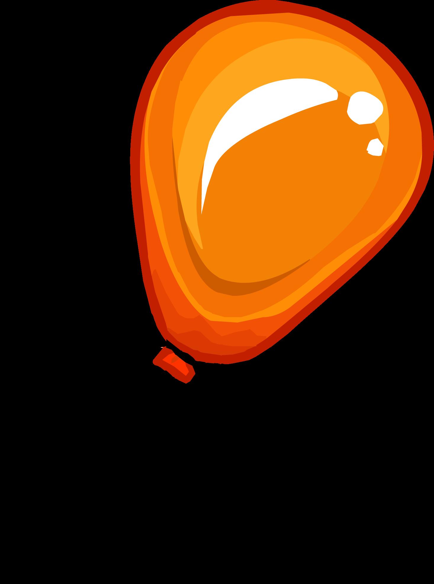 Clipart balloon row. Orange free download best