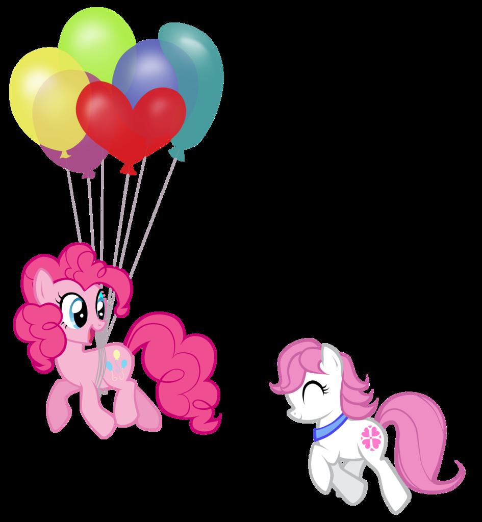 Clipart balloon row.  artist petraea earth