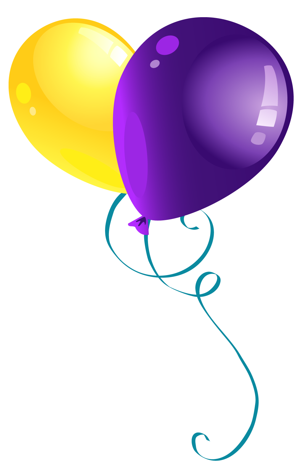 Memories clipart purple tree. Yellow and balloons png