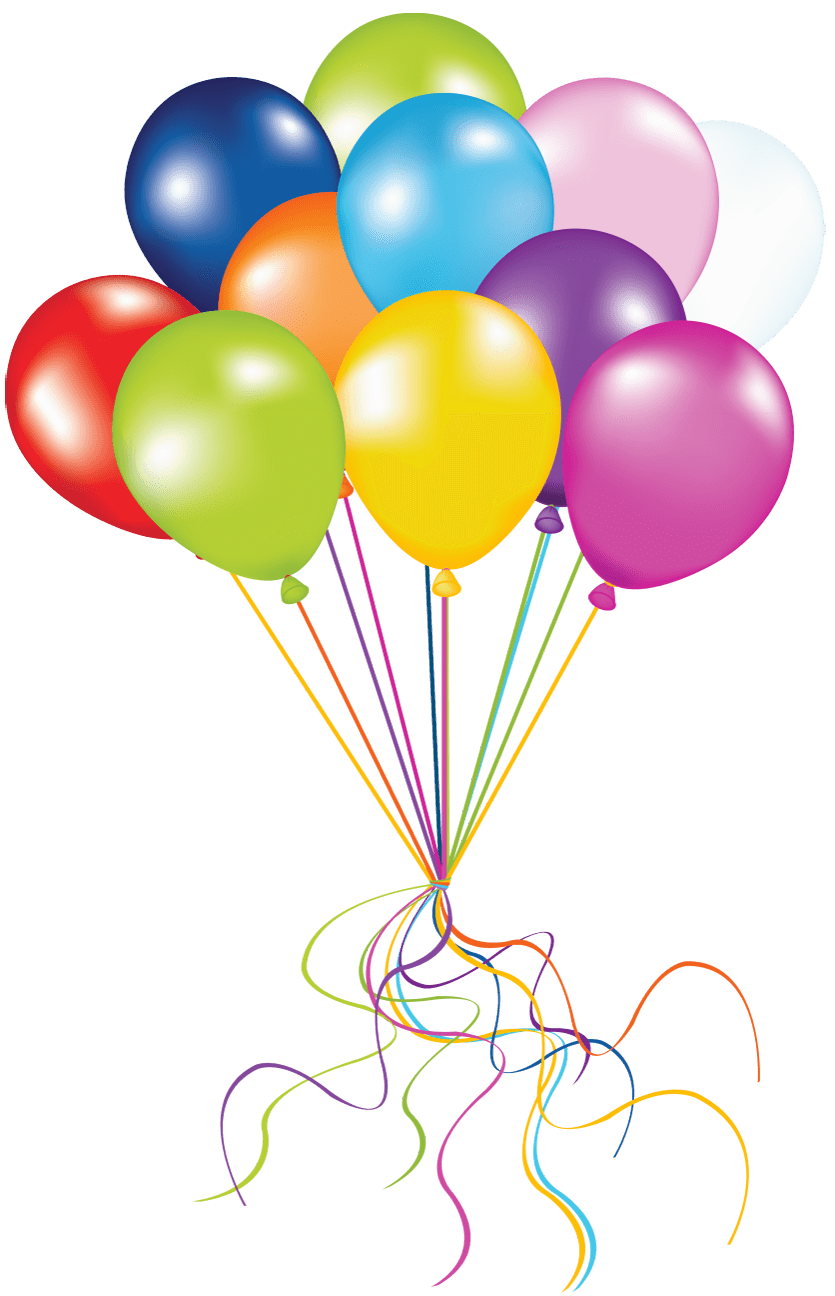 Clipart balloon row. Golden balloons transparent png