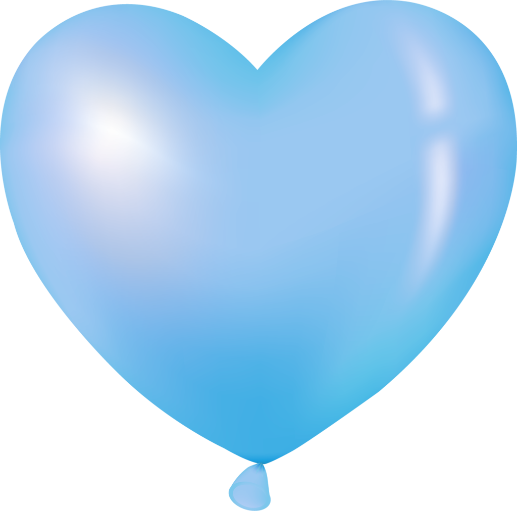 Clipart birthday blue.  pinterest heart balloons