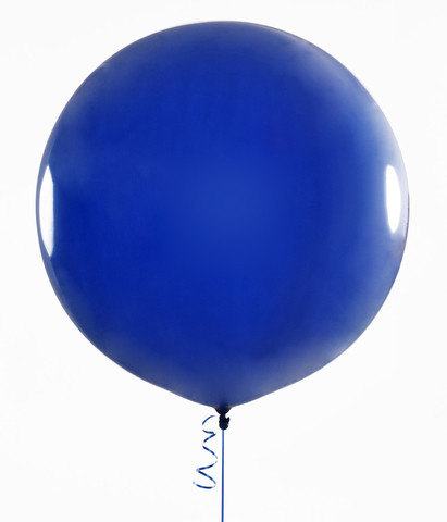 Clipart balloon royal blue. Large round latex balloons