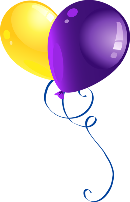 Markers clipart purple. Ballons globos balloons boxes