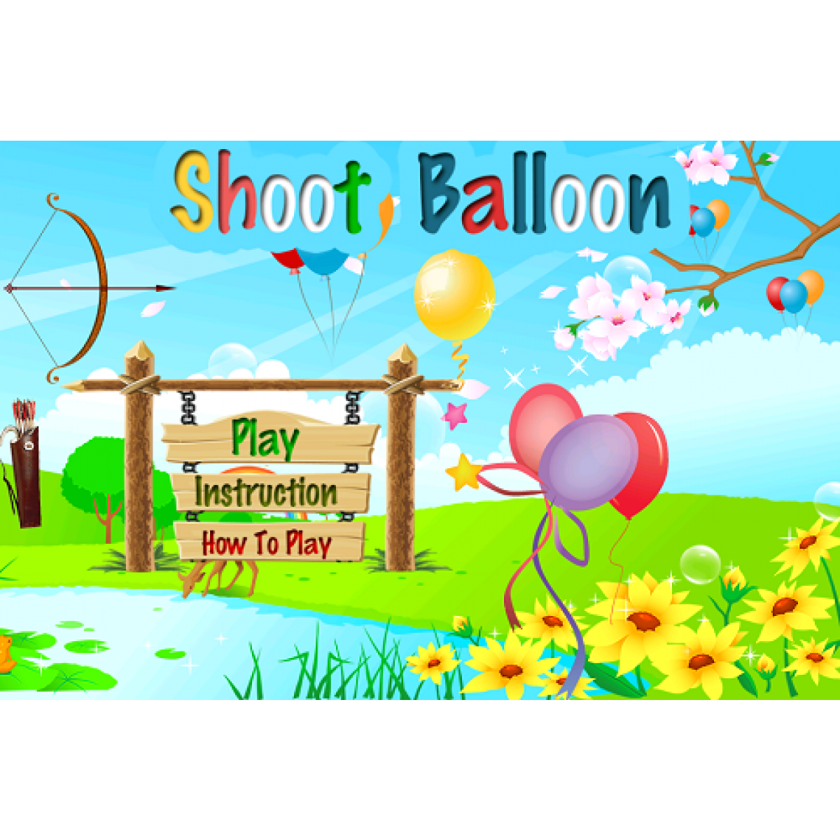 Balloon clipart shooting