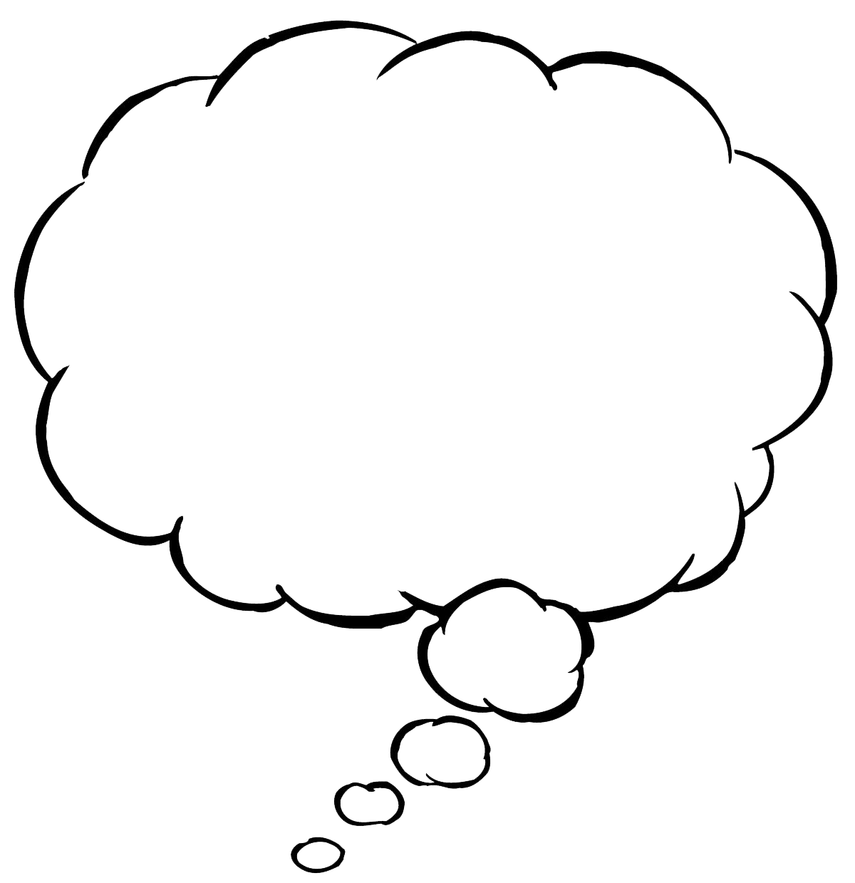 Thought bubble png transparent. Clipart balloon sketch