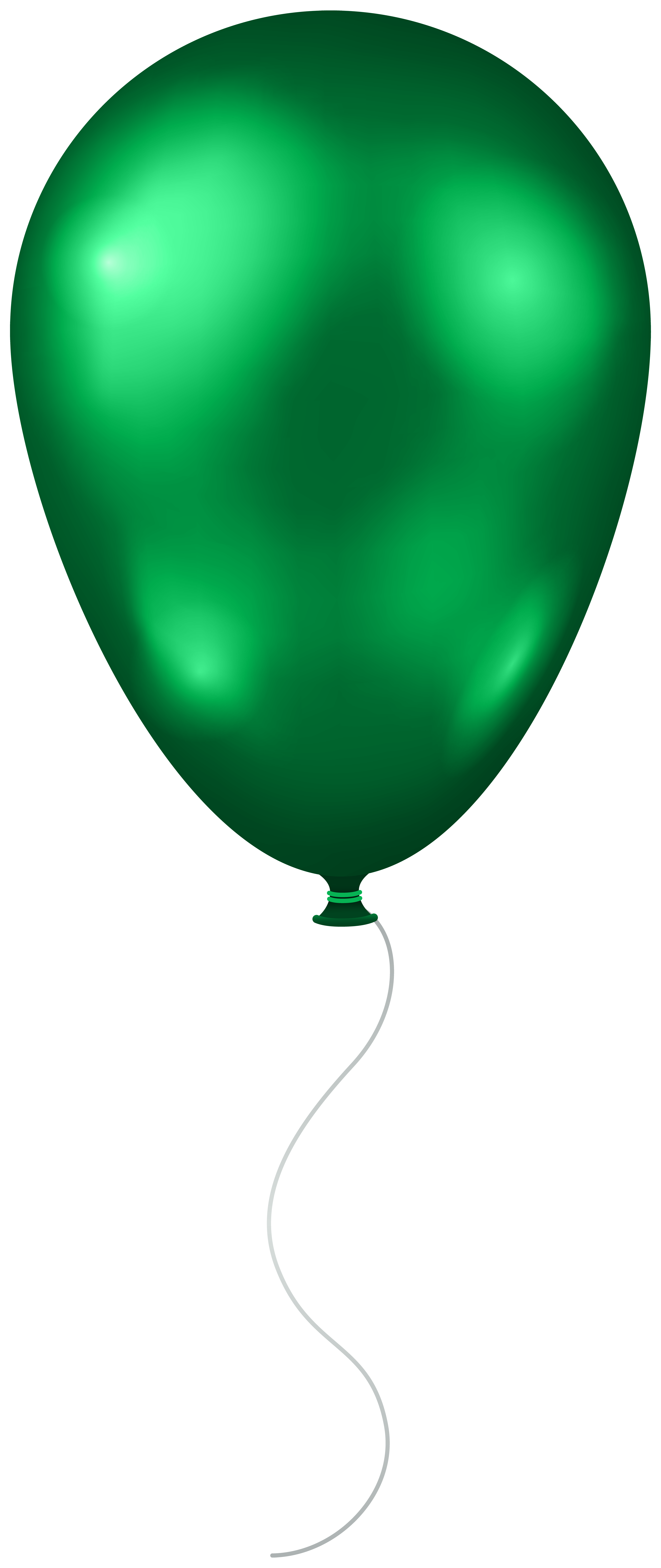 Green transparent png clip. Clipart balloon spring