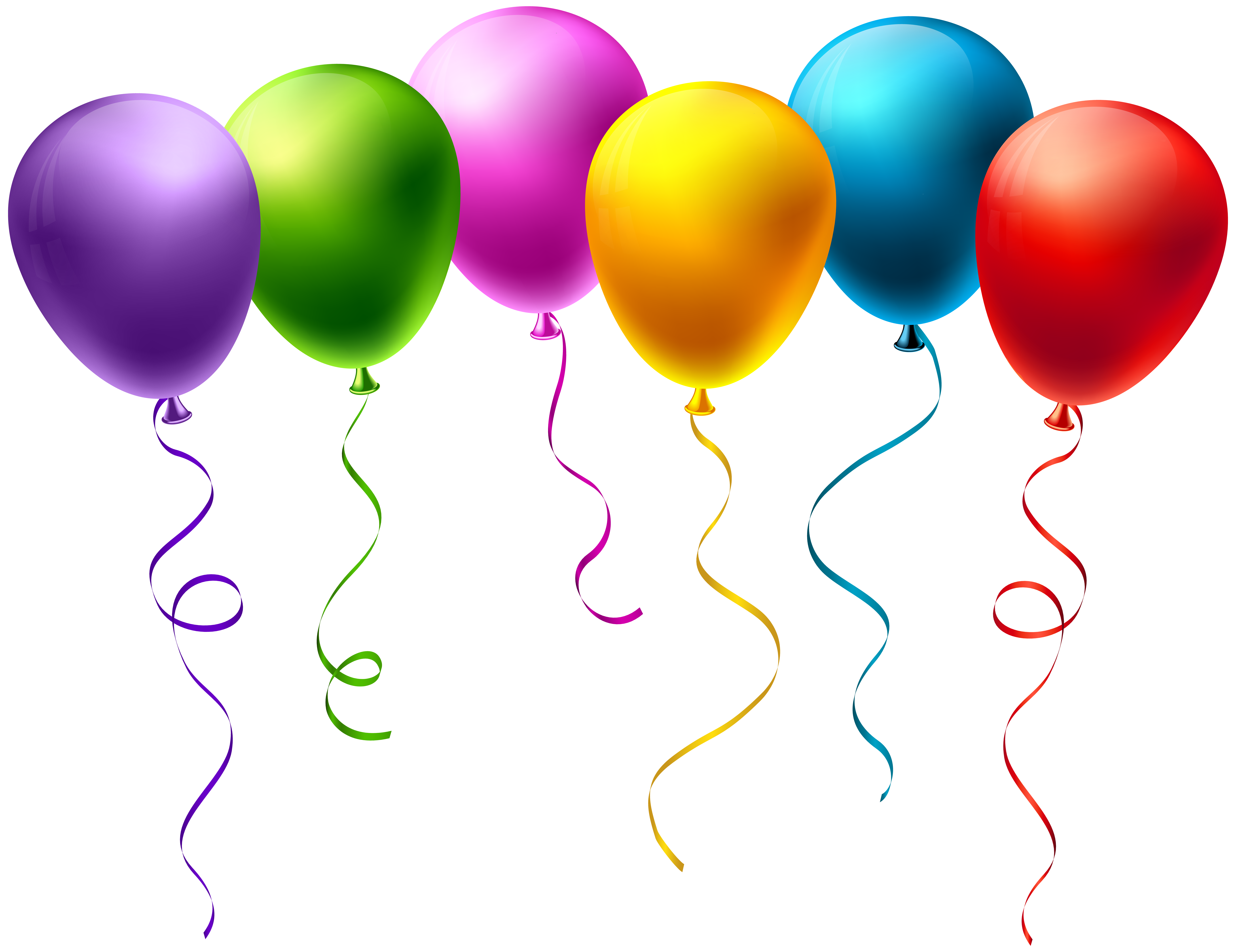 Balloons transparent clip art. Clipart balloon spring